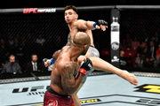 UFC Fight Night 153. Александр Ракич – Джими Манува. Видео боя