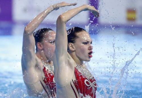 Артистическое плавание. Успех украинской сборной в Барселоне