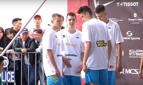 Украина U-18 уступила России на чемпионате мира по баскетболу 3х3