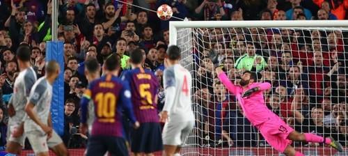 Гол Месси в ворота Ливерпуля - лучший по итогам Лиги чемпионов