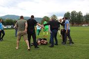 ВИДЕО. На Закарпатье жестоко избили футбольного арбитра