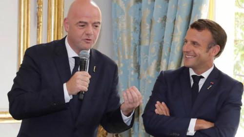 Инфантино переизбран на должность президента ФИФА