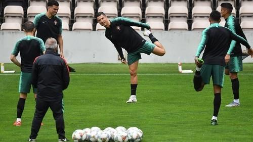 Португалия – Швейцария. Роналду и Фелиш в стартовом составе