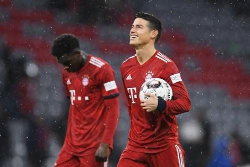 Хамес Родригес покидает Баварию