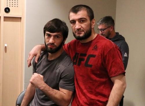 Брат Хабиба Нурмагомедова подписал контракт с UFC