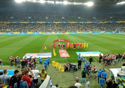 Украина – Сербия – 5:0. Текстовая трансляция матча