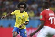 Виллиан заменил Неймара в сборной Бразилии