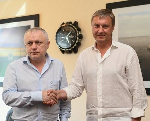 ОФИЦИАЛЬНО: Хацкевич подписал новый контракт с Динамо