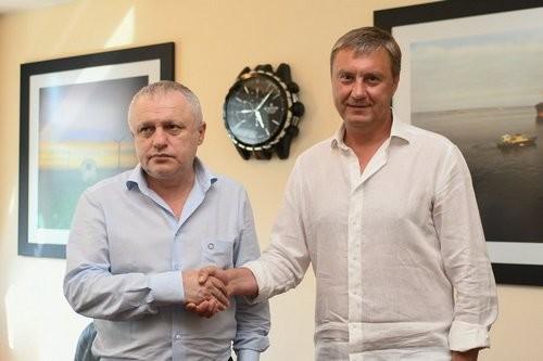 Александр ХАЦКЕВИЧ: «С Суркисом были дискуссии и тяжелые моменты»