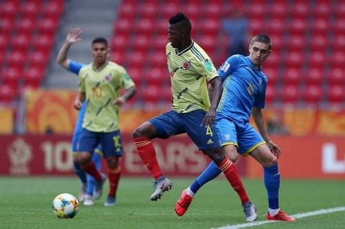 Сборная Украины U-20 справилась с Колумбией и вышла в полуфинал ЧМ
