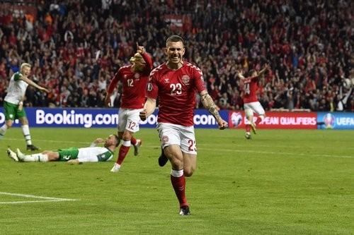 Группа D. Дания сыграла вничью с Ирландией