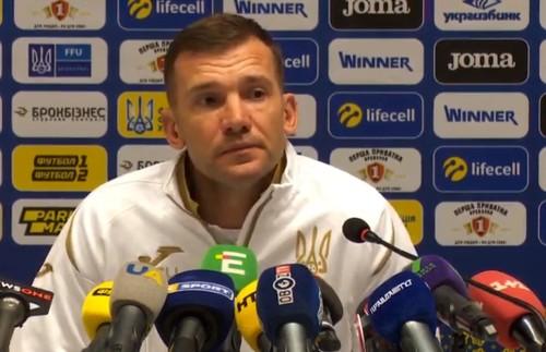 Андрей ШЕВЧЕНКО: «Львов – историческое место для сборной»