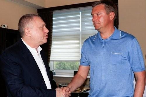 Игорь Суркис и зона комфорта