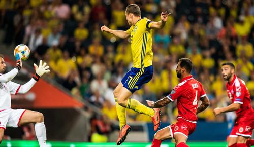 Швеция – Мальта – 3:0. Видео голов и обзор матча