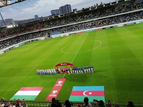 Группа E. Венгрия увозит три очка из Азербайджана