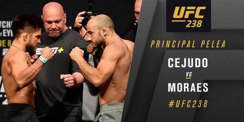 UFC 238. Генри Сехудо – Марлон Мораес. Видео боя