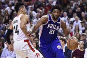 НБА. Филадельфия уверенно разобралась с Торонто и повела в серии