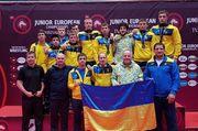 Сборная Украины по вольной борьбе стала пятой на юниорском ЧЕ