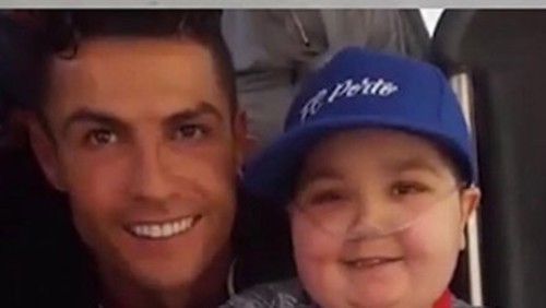 Роналду поразил мир, исполнив мечту 11-летнего парня