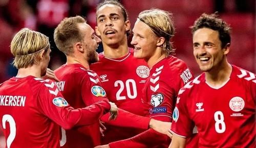 Дания – Грузия – 5:1. Видео голов и обзор матча