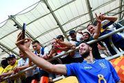 ВИДЕО. Как болельщики на трибуне радовались отмененному голу Италии
