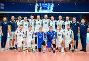 Победа сборной Украины над волейболистами Чехии