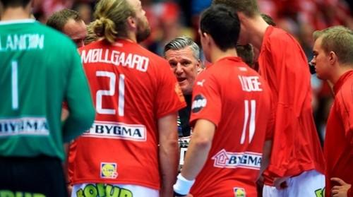 Гандбол. Дания назвала состав на матч против Украины