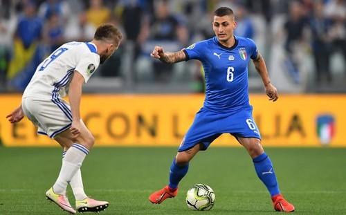 Сборная Италии одержала волевую победу над Боснией и Герцеговиной