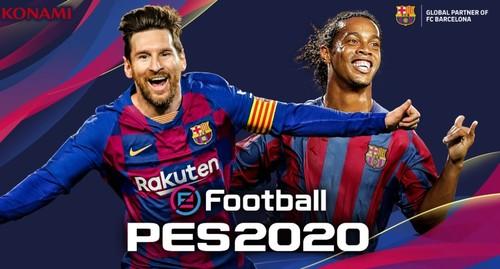 Мессі і Роналдіньо будуть на обкладинці PES 2020