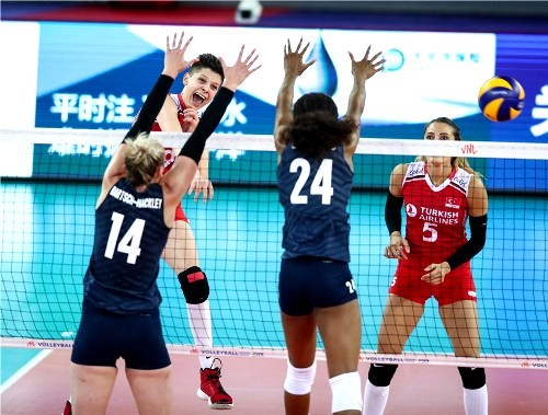 Волейбольная Лига Наций. Женщины. Результаты матчей четвертого тура