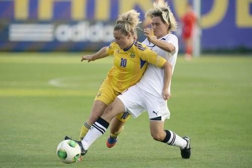 Женская сборная Украины сыграла вничью с белорусками