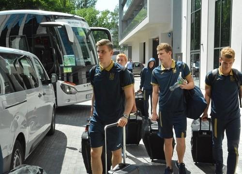 Сборная Украины U-20 начала подготовку к финалу чемпионата мира