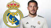 Презентация Азара в качестве игрока Реала. Онлайн трансляция