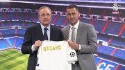 Азар получил форму Реала без игрового номера
