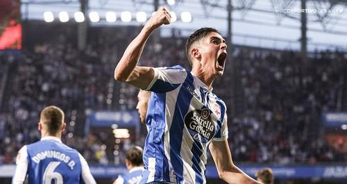 Малага уступила Депортиво в первом полуфинале за выход в Ла Лигу