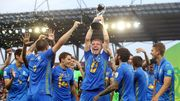 ВИДЕО. Награждение сборной Украины U20 – чемпионов мира 2019