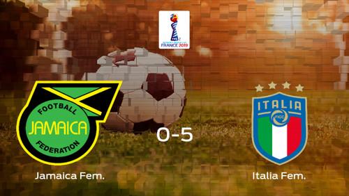 Женский ЧМ-2019. Ямайка проиграла Италии со знаменитым счетом 0:5