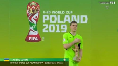 ВИДЕО. Лунин – лучший вратарь чемпионата мира U20