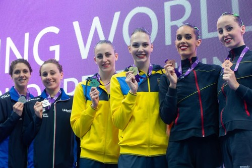 Артистическое плавание. Три золота Украины на Суперфинале FINA