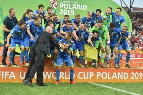 ВИДЕО. Сборная U-20 спела гимн Украины перед финалом чемпионата мира