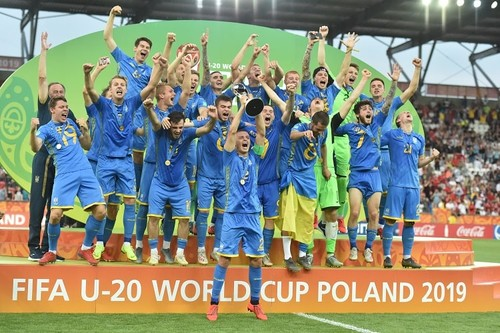 Сборная Украины U-20 вернулась в Украину