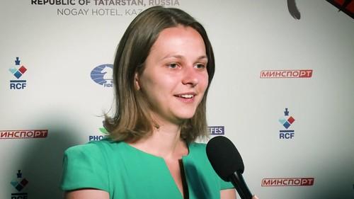 Анна Музычук заняла второе место в Турнире претенденток