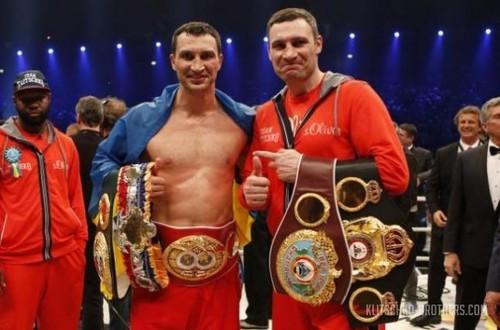 Братья Кличко получат медали турнира по бодибилдингу