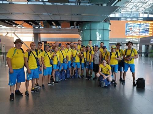 Боксерская сборная Украины отправилась в Минск на Европейские игры