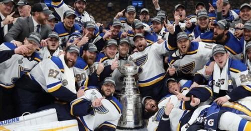 НХЛ. Как Сент-Луис ждал 51 сезон и выиграл первый Кубок Стэнли