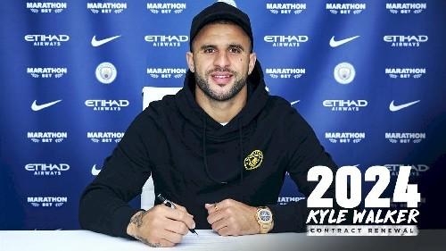 Кайл Уокер подписал новый контракт с Манчестер Сити