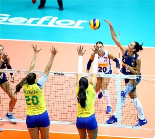 Волейбольная Лига Наций. Женщины. Результаты матчей пятого тура