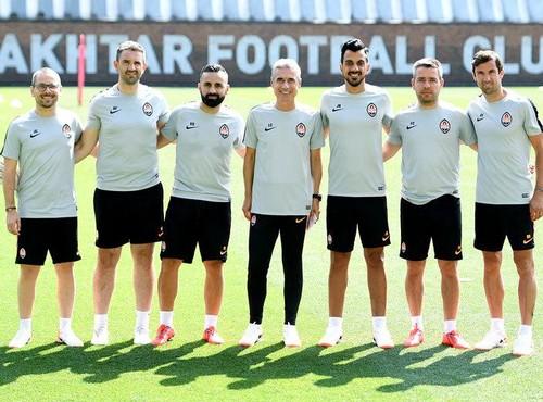 Пять португальцев вошли в тренерский штаб Шахтера
