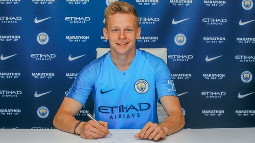 ЗИНЧЕНКО: «Остаться в Манчестер Сити еще на пять лет – честь для меня»