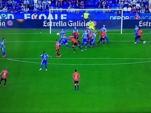 Депортиво выиграл первый матч у Мальорки за выход в Ла Лигу